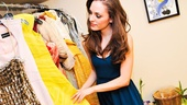 Cinderella- Laura Osnes – Backstage Tony Gowns