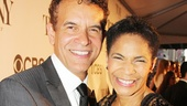 Tony Red Carpet-Brian Stokes Mitchell- Allyson Tucker