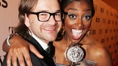 Patina Miller shows off her Tony—and her fiancé, David Mars!