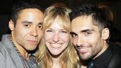 'Venice' Opening at the Public — Jonathan-David — Emilee Dupre — Manuel Stark