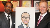 Courtney B. Vance at Sardi's — Courtney B. Vance — Max Klimavicius