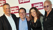 'A Night with Janis Joplin' Press Event — Dan Chilewich — Todd Gershwin — Mary Bridget Davies — Randy Johnson