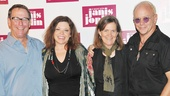'A Night with Janis Joplin' Press Event — Michael Joplin — Mary Bridget Davies — Laura Joplin — Randy Johnson