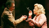 Cotter Smith as Howard Ratliff and Betty Buckley as Gertrude Hayhurst Sylvester Ratliff in The Old Friends