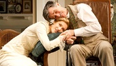 Charlotte Parry as Catherine and Roger Rees as Arthur in The Winslow Boy.