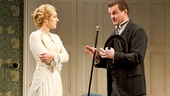 Charlotte Parry as Catherine and Michael Cumpsty as Desmond Curry in The Winslow Boy.