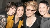 Fun Home Opening Night – Alexandra Socha – Roberta Colindrez – Lisa Kron – Beth Malone