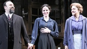 Dannu Burstein, Mary-Louise Parker and Victoria Clark receive a standing ovation on opening night of The Snow Geese.