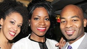 After Midnight opening night – Krisha Marcano – Fantasia Barrino – Brandon Victor Dixon