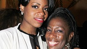 <i>Motown</i>'s Krisha Marcano and Brandon Victor Dixon enjoy a <i>Color Purple</i> reunion with Fantasia Barrino.