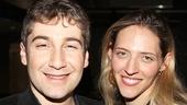 Murder For Two – Opening Night – Scott Schwartz – wife