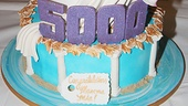 Mamma Mia – 5,000 performance – cake