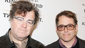 Playwright Kenneth Lonergan and his childhood friend (and adult collaborator) Matthew Broderick walk the red carpet together.