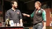 John Pollono as Frank & James Badge Dale as Swaino in Small Engine Repair