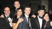 Gentleman's Guide opening night – producers – Bryce Pinkham – Jefferson Mays