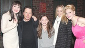 Michael J. Fox Visits Kinky Boots – Lena Hall – Michael J. Fox – Annaleigh Ashford