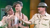 A Man's A Man - show photos - Martin Moran - Jason Babinsky - Gibson Frazier - Steven Skybell
