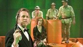 Stephen Spinella as Bloody Five, Justin Vivian Bond as Leokadia Begbick, Steven Skybell as Jesse Mahoney, Jason Babinsky as Polly Baker & Martin Moran as Uriah Shelley in A Man's A Man