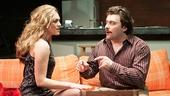 Christina Elise Perry as Darlene & Kirk Gostkowski as Eddie in Hurlyburly