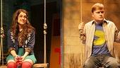 Sarah Stiles as Sarah & Steven Boyer as Jason in Hand to God