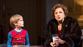 Bobby Steggert as Will Ogden, Frederick Weller as Cal Porter, Grayson Taylor as Bud & Tyne Daly as Katharine in Mothers and Sons