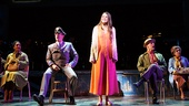 Sutton Foster and the cast of Violet