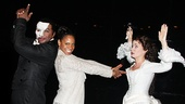 The Phantom of the Opera stars Norm Lewis and Sierra Boggess get silly with Lady Day leading lady Audra McDonald.