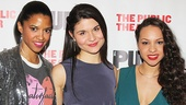 Hamilton – opening night – 2/15 – OP -  Renee Elise Goldsberry – Phillipa Soo – Jasmine Cephas Jones