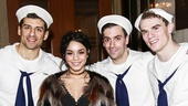 On the Town - Backstage - 3/15 - Tony Yazbeck - Vanessa Hudgens - Clyde Alves - Jay Armstrong Johnson