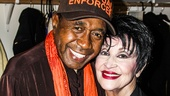 The Visit - Backstage - 4/15 - Chita Rivera - Ben Vereen