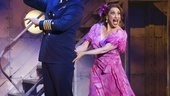 John Bolton as The Captain and Lesli Margherita as Mona Kent in Dames at Sea