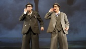 David Shiner and Bill Irwin in Old Hats.   Photo by Joan Marcus.