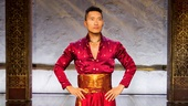 Daniel Dae Kim as The King of Siam in The King and I.