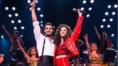 Ektor Rivera as Emilio and Ana Villafañe as Gloria in On Your Feet!.
