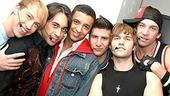 Jai Rodriguez at Altar Boyz - Tyler Maynard - Ryan Duncan - Jai Rodriguez - David Josefsberg - Scott Porter - Andy Karl
