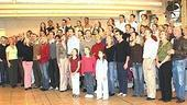 White Christmas Press Event 2005 - full casts