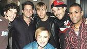 Jeff Timmons at Altar Boyz - Dennis Moench - Jeff Timmons - Scott Porter - Danny Calvert - Kevin Kern - Nick Sanchez