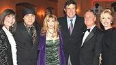 Jersey Boys Opening - wife - Steve Van Zandt - wife - Cousin Bruce Morrow - Neil Sedaka - wife
