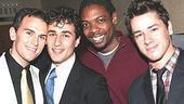 Jersey Boys Opening - Daniel Reichard - Joey Dudding - Michael Benjamin Washington - Adam Fleming