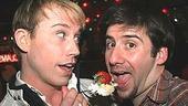 Altar Boyz First Anniversary - Tyler Maynard - David Josefsberg (cake feeding)