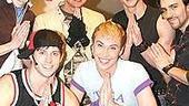 Stars at Altar Boyz 2006 - Carson Kressley with boyz