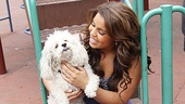 Jordin Sparks Behind the Scenes – Jordin Sparks dog