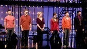 Marin Mazzie and Jason Danieley Debut in Next to Normal – group curtain call