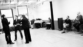 High rehearsal – Stephen Kunken – Evan Jonigkeit – Kathleen Turner – Matthew Lombardo – Rob Ruggiero