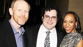 Mormon opens - Ron Howard - Josh Gad - Nikki M. Jones