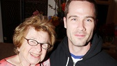Celebrities at The Normal Heart – Dr. Ruth Westheimer – Luke Macfarlane