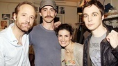 Patti LuPone and Idina Menzel at <i>The Normal Heart</i> - John Benjamin Hickey – Lee Pace – Idina Menzel – Jim Parsons