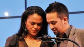 2011 Audience Choice Awards Ceremony – Lin-Manuel Miranda – Karen Olivo (blackberry)