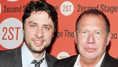 <i>All New People</i> Opening Night – Zach Braff – Garry Shandling