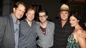 <i>Million Dollar Quartet</i> Re-Opening Party – James Moye – David Abeles – Robert Britton Lyons – Lance Guest – Victoria Matlock